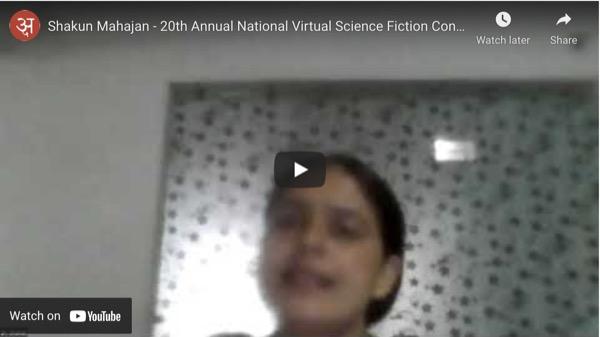 shakun-mahajan-20th-annual-national-virtual-science-fiction-conference-india