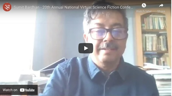 sumit-bardhan-20th-annual-national-virtual-science-fiction-conference-india